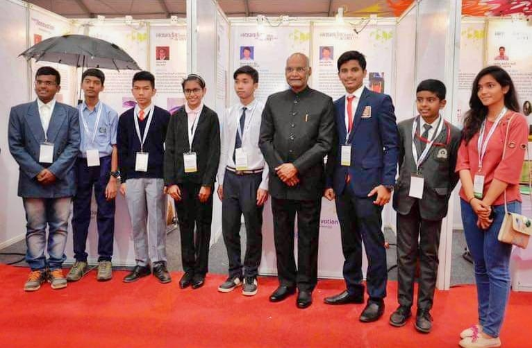 SNBP Student With President Of India, A Proud Moment
