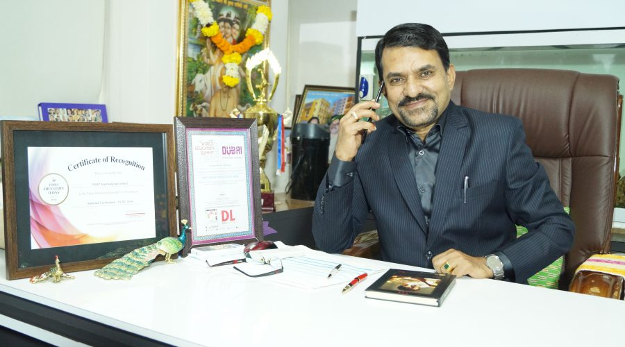 Dr. Dasharath Bhosale,Chairman SNBP International School