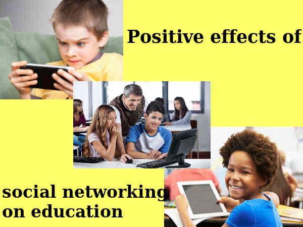 Social Media In Education In A Positive Way