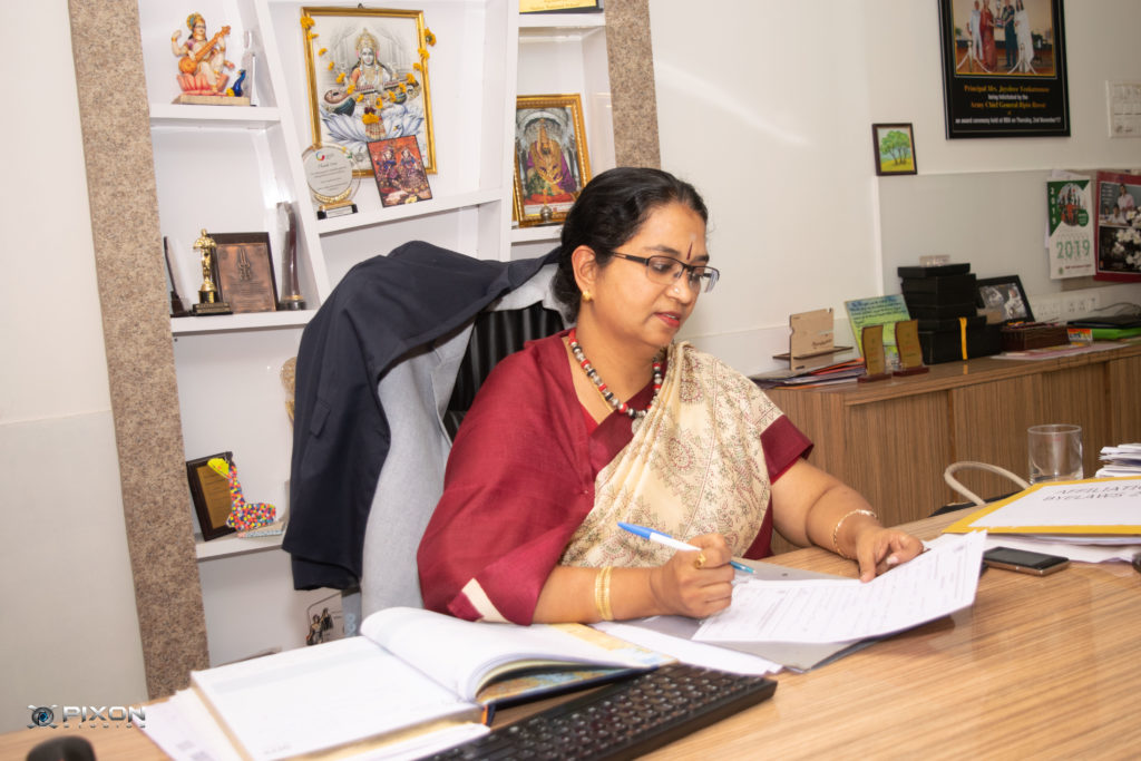 Ms. Jayashree Venkatraman - Principal of SNBP Institutes, Pune