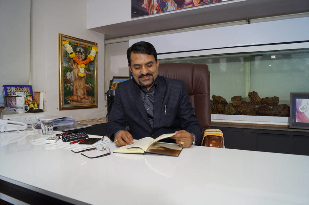 Dr. DK Bhosale - Chairman of SNBP International School, Pune