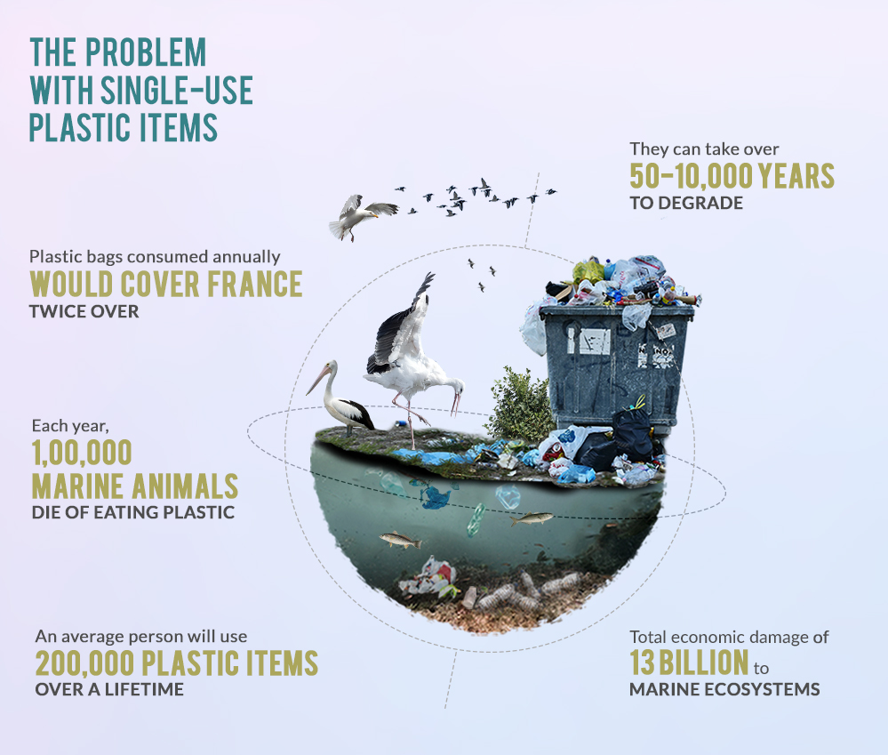 Single-Use Plastic - A Major Problem