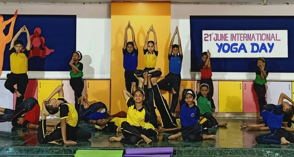 Yoga Day Celebration in SNBP International School, Pune